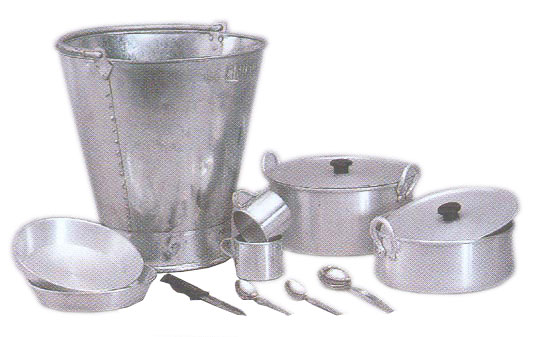 Vishal metal industries for Kitchen set aluminium